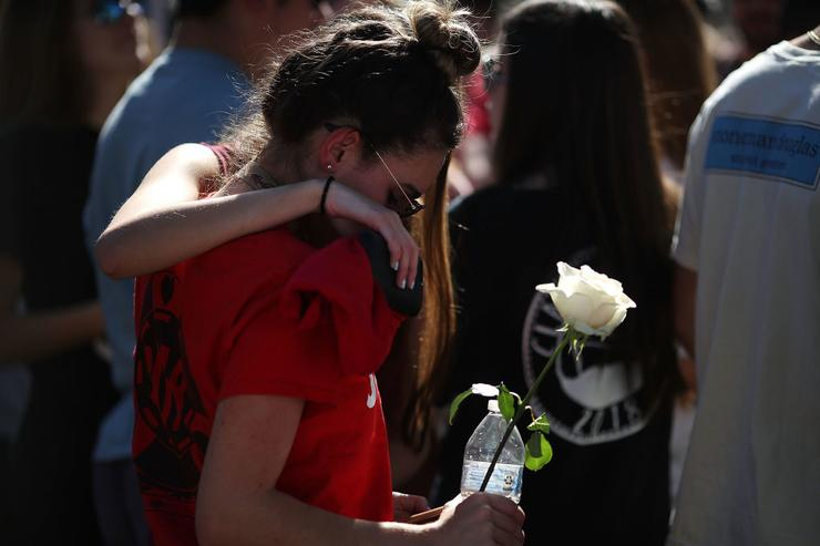 Marjory Stoneman Douglas High School students