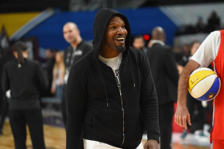 Jamie Foxx Walks Off Live ESPN Broadcast When Asked About Katie Holmes
