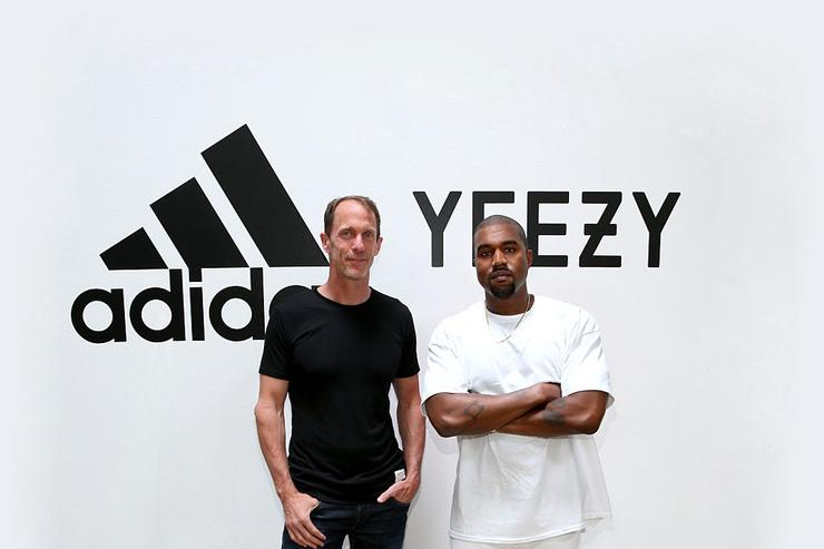 adidas CMO Eric Liedtke and Kanye West