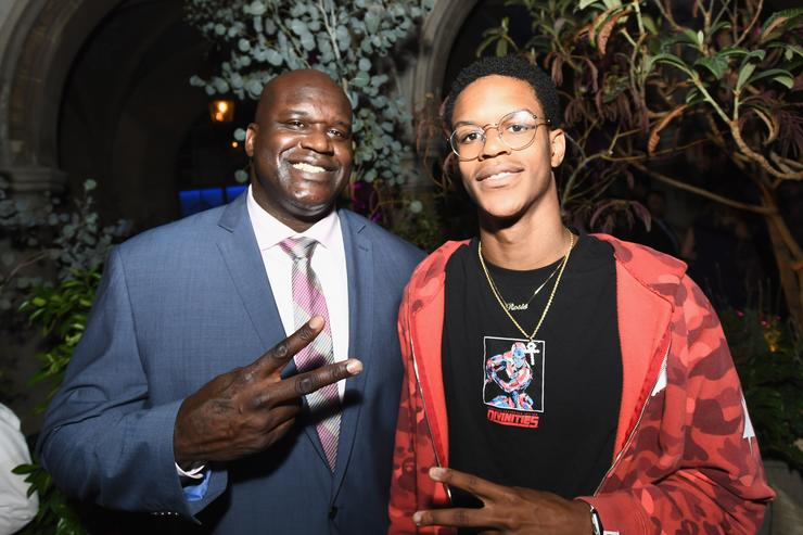 Shareef O'neal and Shaq