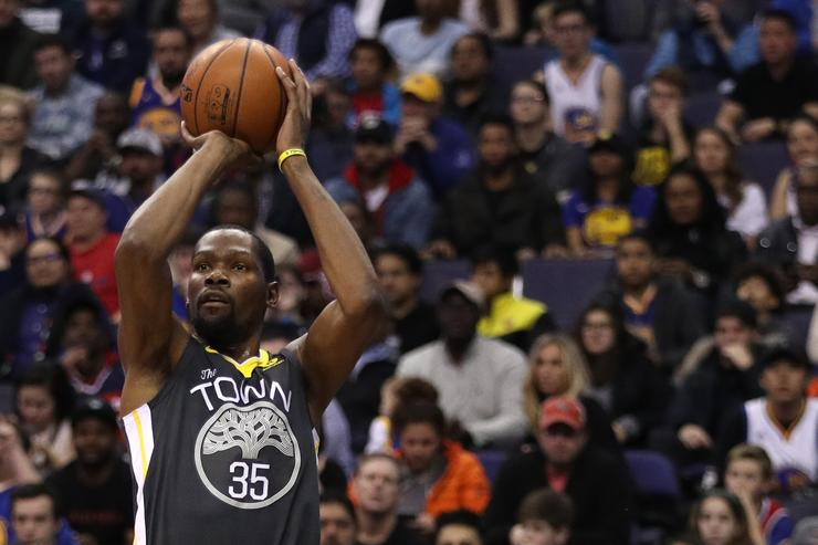 Kevin Durant dazzles as Warriors beat Wizards