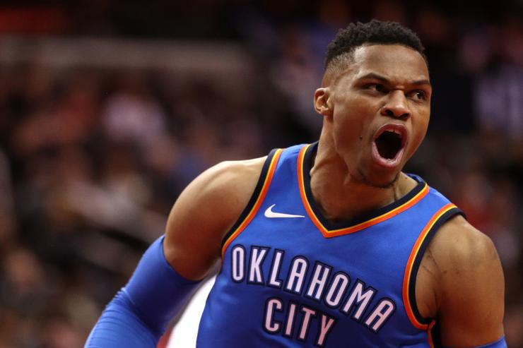By The Numbers: Westbrook Records 100th Triple-Double