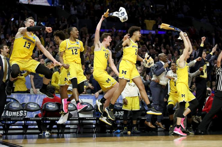 MI head coach John Beilein says fans made Staples feel like Crisler
