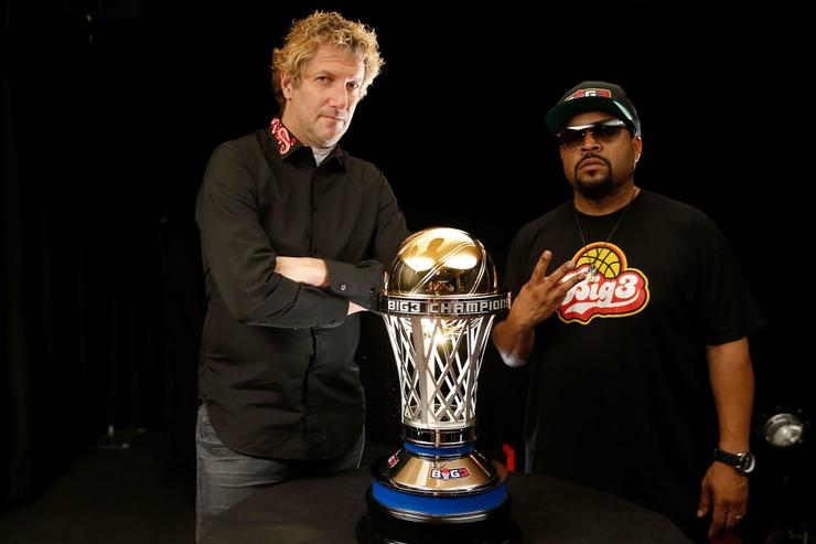 Big3 founders Jeff Kwatinetz & Ice Cube