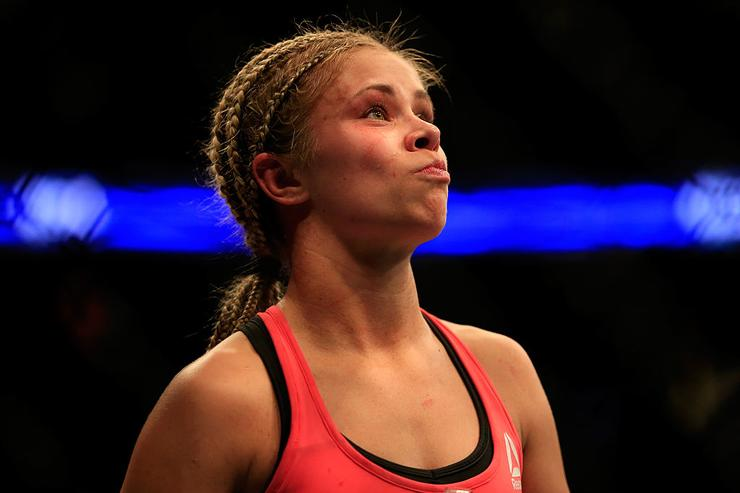 UFC Star Paige VanZant Reveals She Was Gang Raped