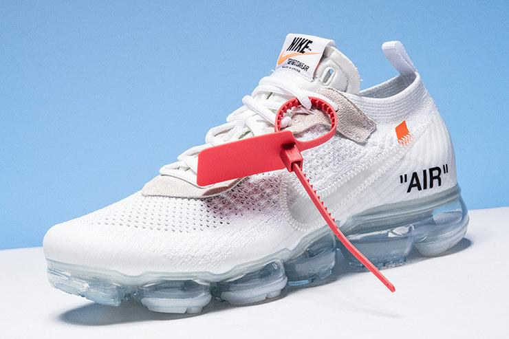 the latest 4c391 353b3 Off-White x Nike Vapormax To Release Tomorrow In White Color
