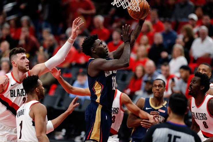 Holiday has 33 as Pelicans beat the Blazers, go up 2-0