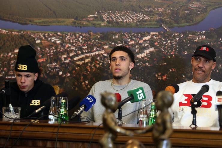 LiAngelo and LaMelo Ball leave BC Vytautas due to injuries