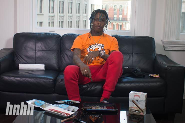 Famous Dex at HNHH Headquarters