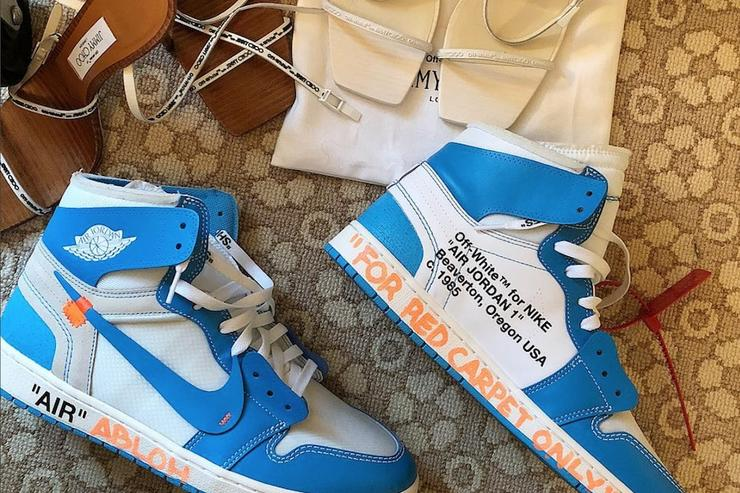 Virgil Abloh Debuts Off-White x Air Jordan 1
