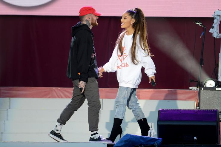 Ariana Grande and Mac Miller Split
