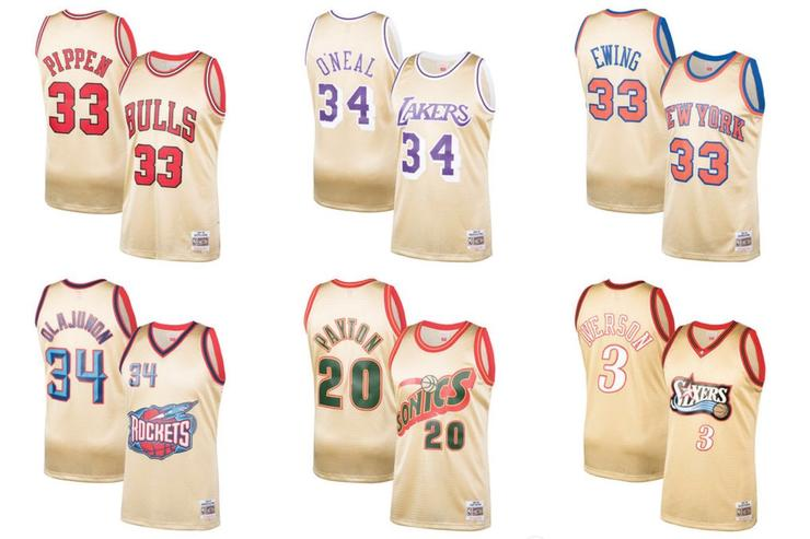 Mitchell & Ness Gold Series