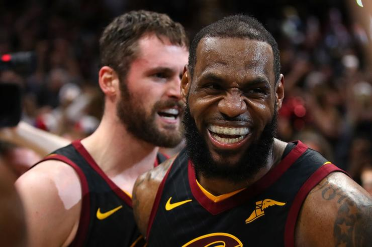 Kevin Love x LeBron
