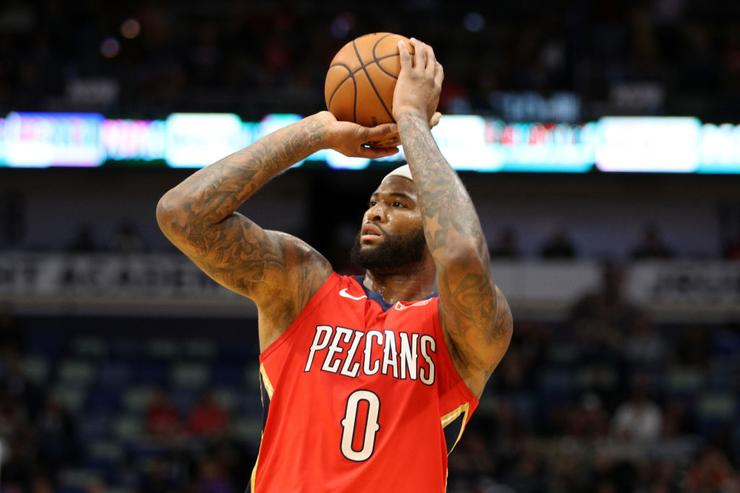 Image result for demarcus cousins pelicans