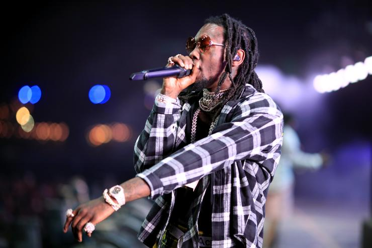 Offset Hospitalized After Car Crash