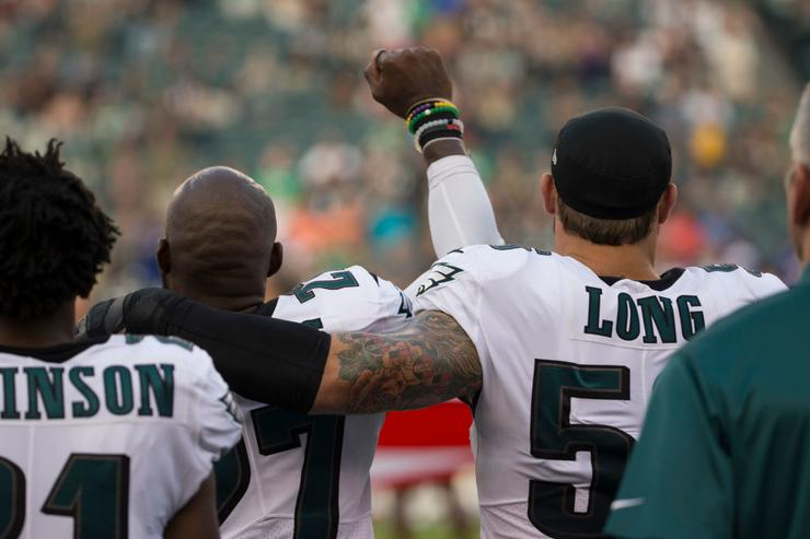 Malcolm Jenkins x Chris Long