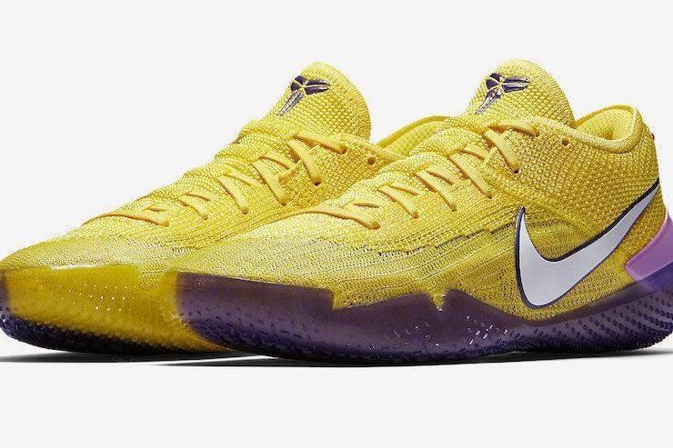 more photos 2c0ac 2e9c9 ... white mens basketball shoes new release fb933 a8dbd  italy nike kobe ad  nxt 360 lakers now available purchase links ebf90 92585