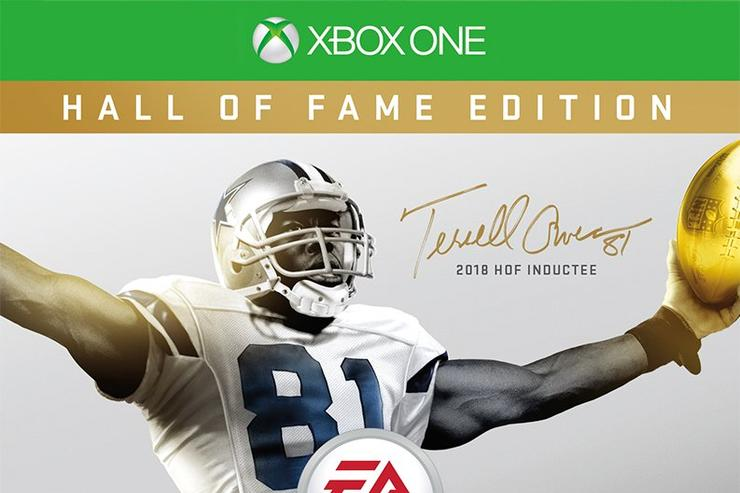 Get your popcorn ready: Madden 19 HOF cover to feature Terrell Owens
