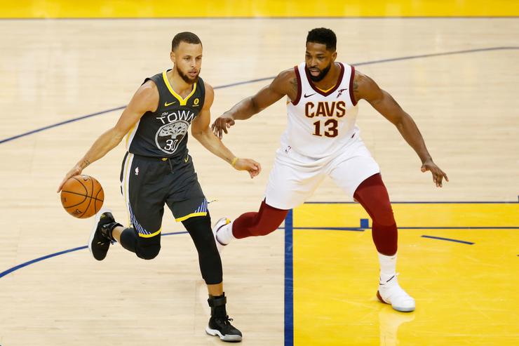 Tristan Thompson x Steph Curry