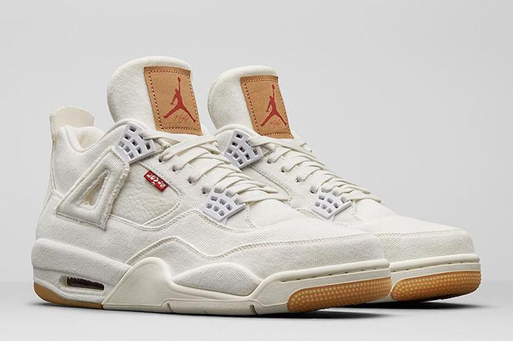 Levi s x Air Jordan 4 Releasing In Black And White Colorways Tomorrow a122cdf20
