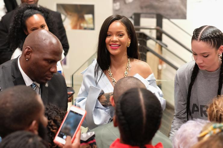 Rihanna at Stance Foundation Event