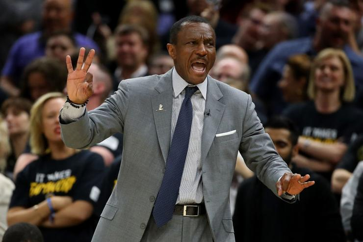 NBA coach of the year Casey picked as Pistons coach