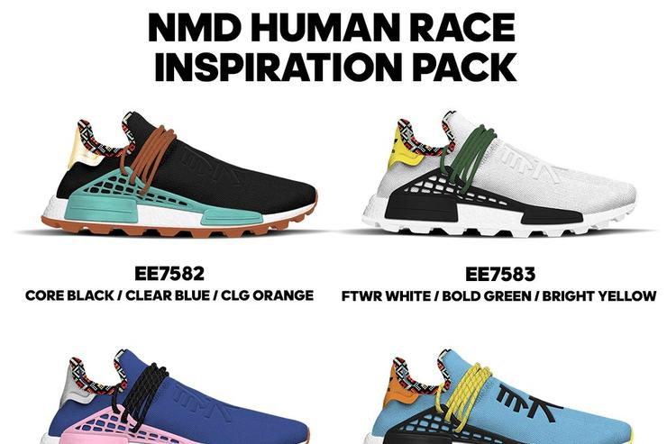 Pharrell x adidas nmd hu: new colorways questo autunno...