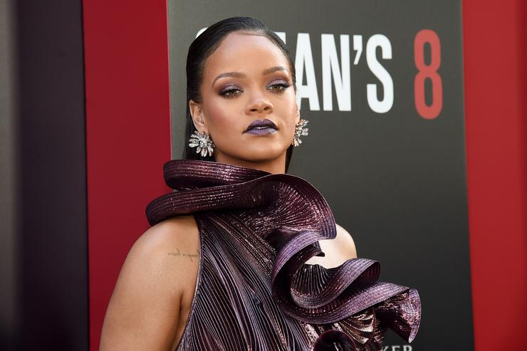 Rihanna Defends Her Habit Of Stealing Wine Glasses
