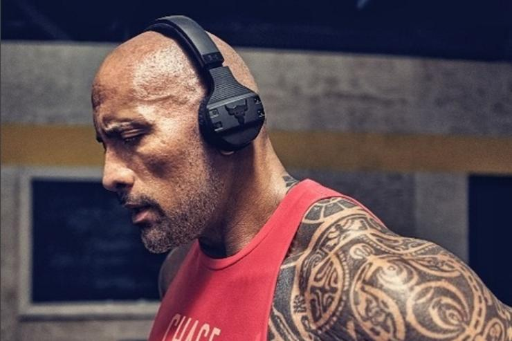 The Rock x UA