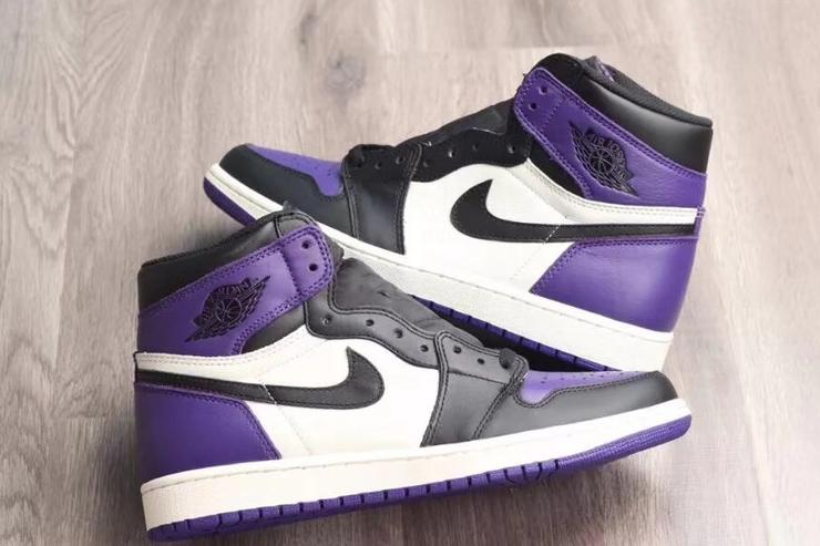 Court Purple AJ1