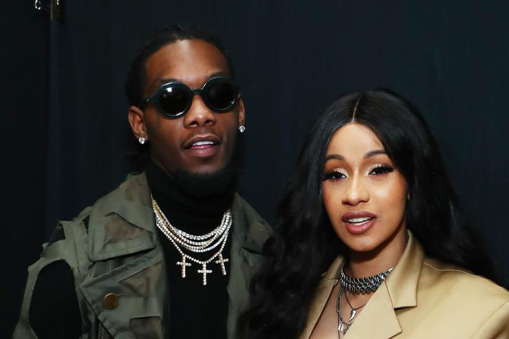 Cardi B & Offset Reportedly Decked Out Kulture's Nursery In Designer - Image ~ Naijabang