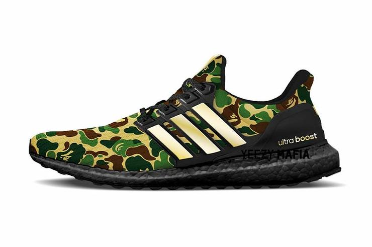 BAPE x Adidas UltraBoost Rumored To Release 170ef8661f