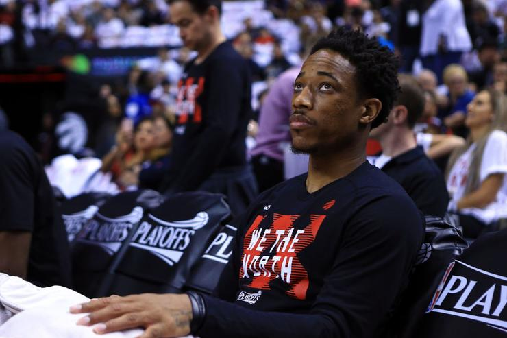 DeMar DeRozan Instagram Reaction To Being Traded Going Viral