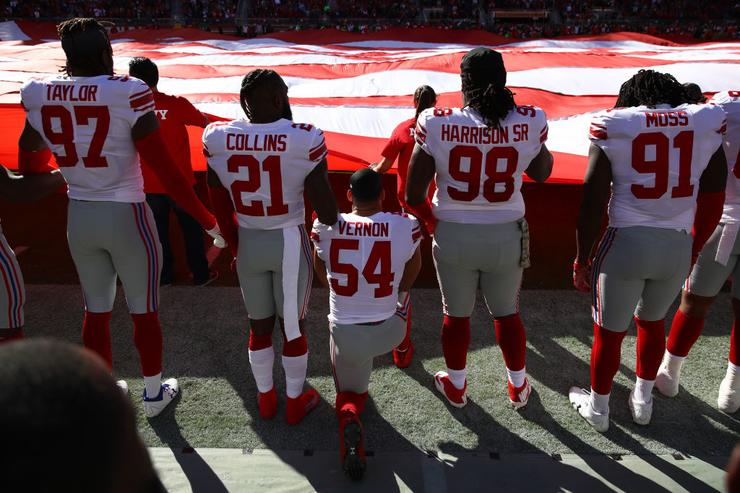 Nfl Nflpa Announce Standstill On National Anthem Policy