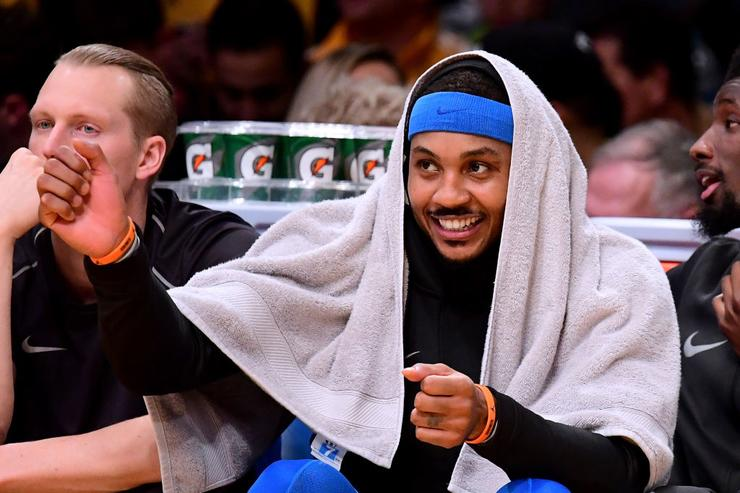 Carmelo Anthony set to sign with Rockets