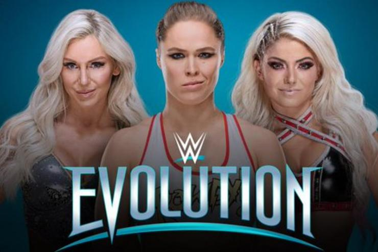 WWE announces first-ever all women's event, 'Evolution'