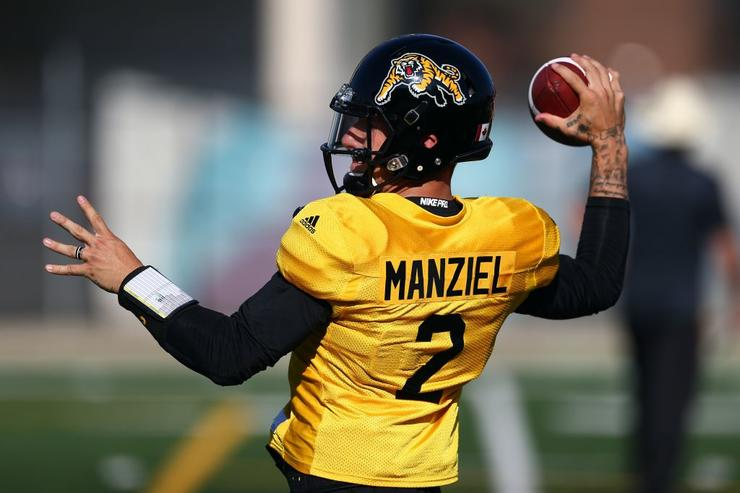 Johnny Manziel Gets First CFL Start Against Team That Traded Him ca5661bf6