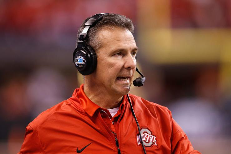 Horribly Ironic Urban Meyer T-Shirt Sell Out Mere Hours After Getting Suspended