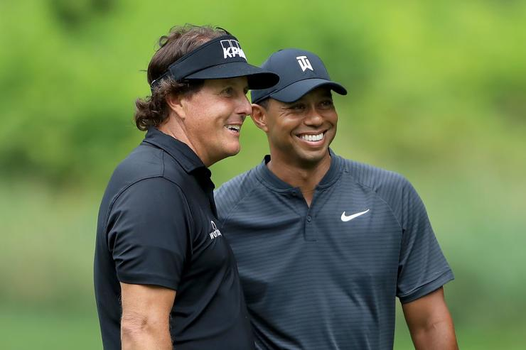 Match Between Woods and Mickelson Set for Thanksgiving Weekend