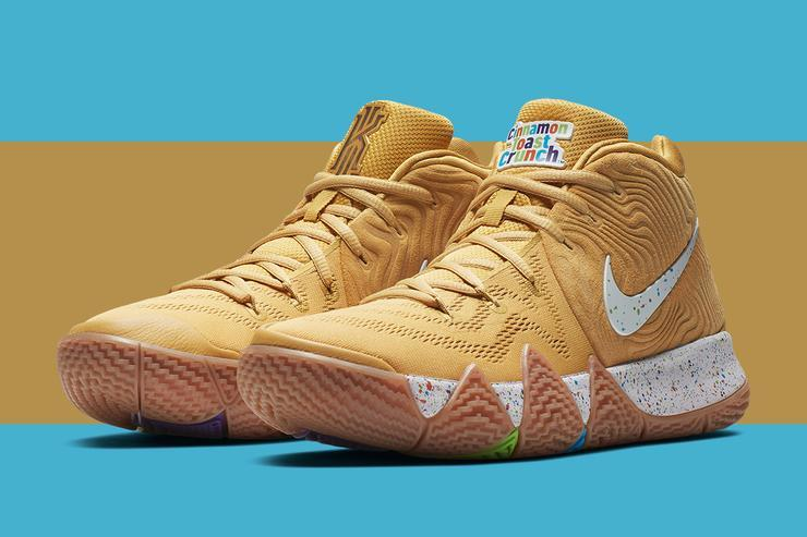 "Nike Kyrie 4 ""Cereal Pack"" New Release Details Announced 10df86e52"