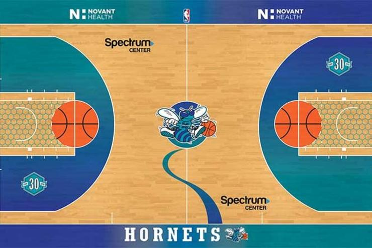 charlotte hornets unveil retro classic nights court for select games