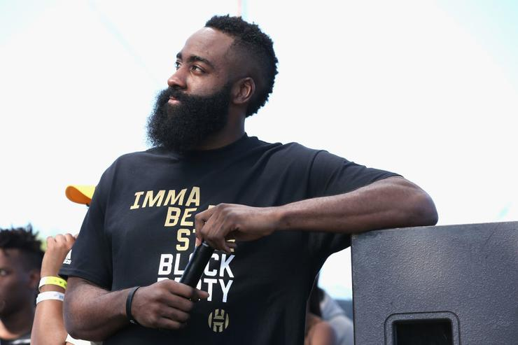 Harden named in police report after nightclub altercation
