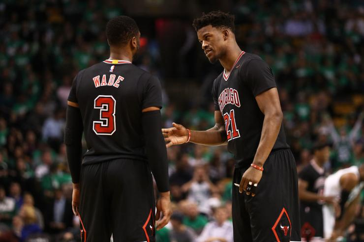 Ex-Bulls snit: Dwyane Wade threatens Jimmy Butler over Gabrielle Union quip