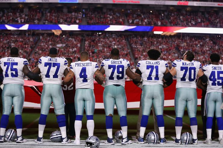 ESPN announce that they won't broadcast the anthem before Monday Night Football