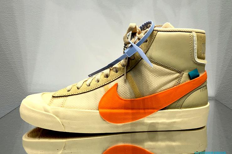 Off White X Nike Blazer Mid All Hallows Eve Grim Reaper Revealed
