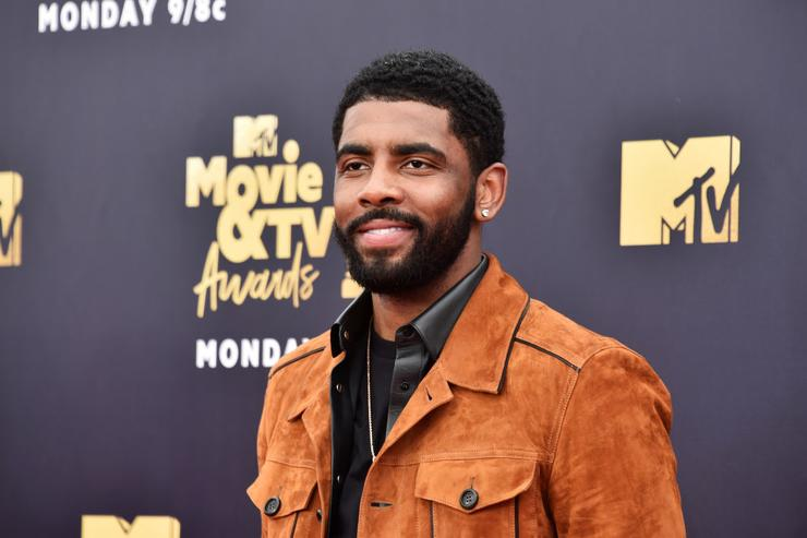 Kyrie Irving gets named Little Mountain at Sioux ceremony in North Dakota