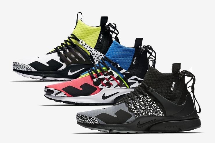 low priced f5a66 ea360 Acronym x Nike Air Presto Mid Official Images Revealed