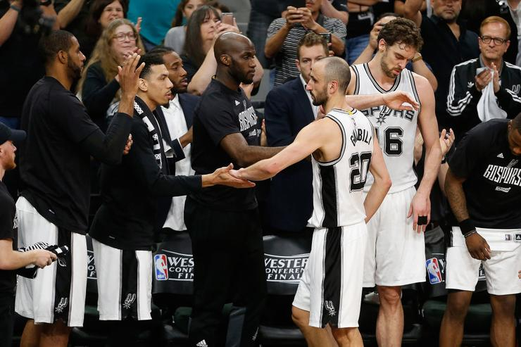 National Basketball Association players react to Manu Ginobili's retirement: 'What a career!'