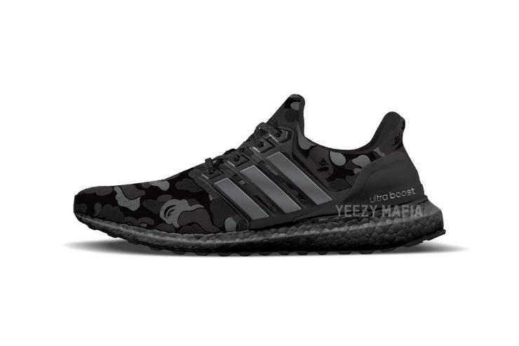 purchase cheap bcd25 87185 BAPE x Adidas UltraBoosts Releasing For Super Bowl Weekend