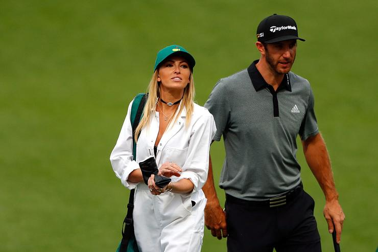 What's going on between Dustin Johnson and Paulina Gretzky?